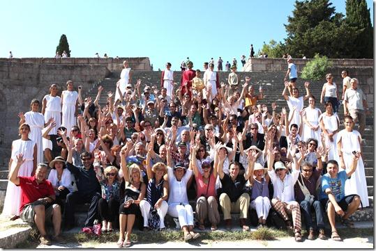 episkepsi skinotheton sto ASKLIPIEION 4-9 KOS 2010