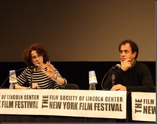 LIsa Schwarzbaum and Matteo Garrone
