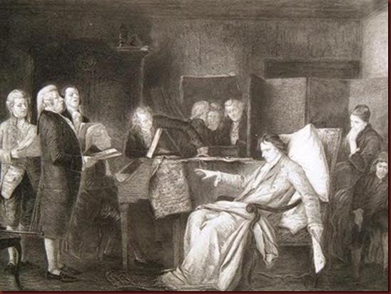Mozart Directing His Requiem
