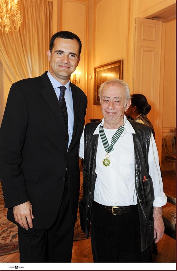 Ambassade de France en GreceVasilis Alexakis