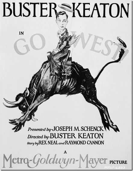 Poster - Go West (1925)