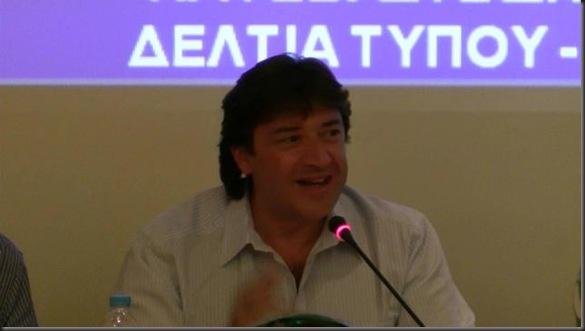 BADMINTON 2011-2012 PRESS CONFERENCE TAKHS GEORGAS