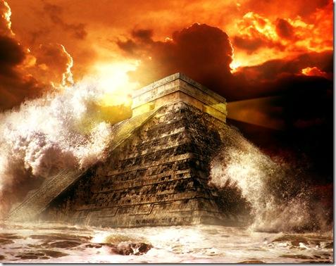 Profecías mayas, El apocalipsis del 2012, piramide maya