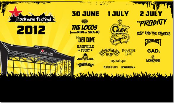 ROCKWAVE FESTIVAL 2012