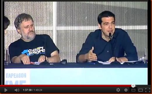TSIPRAS ΖΙΖΕΚ_BENAKI_3_6_2012_VIDEO