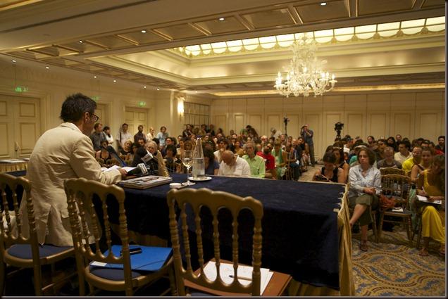 NYXTES PREMIERAS 2012 PRESS CONFRERENCE 2