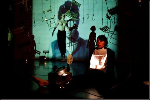"""Probenfotos der Inszenierung """" This is theatre how it was to be expected """" von Jan Fabre im Künstlerhaus Laboratorium von Troubleyn Jan Fabre in Antwerpen / Belgien am Montag, 04.06.2012"""