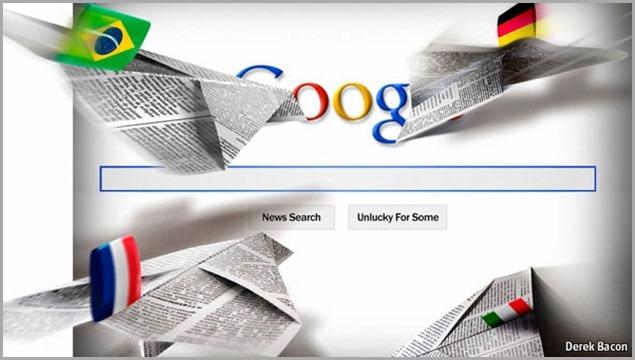 GOOGLE VS NEWSPAPERS