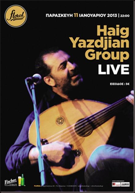 Haig Yazdjian Group Live @ Floral