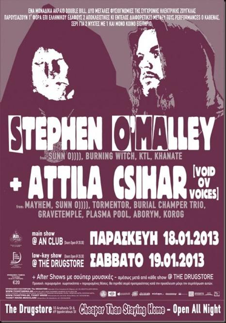 STEPHEN O'MALLEY - ATTILA CSIHAR