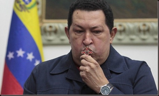 Venezuela's Hugo Chavez dies at 58