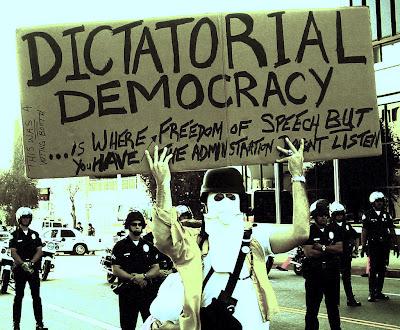 dictatorial democracy
