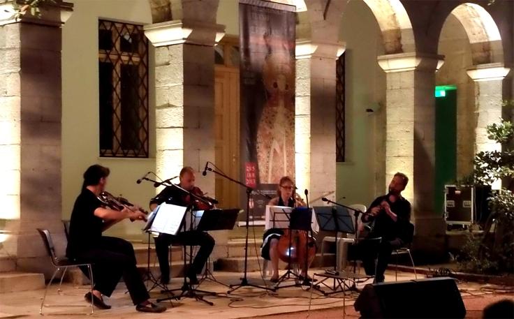 8ο Mousiko F. Aiginas,  Tropos Quartet-Mourikis Byzantino, Athina-1©Nikos S.
