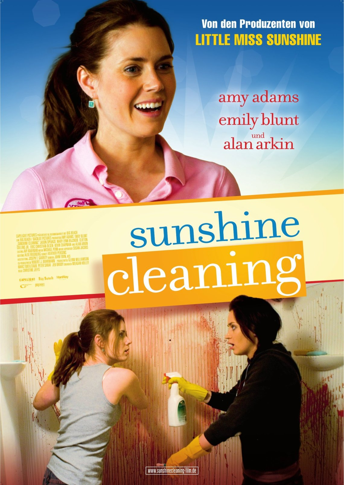 sunshine_cleaning_2008 poster