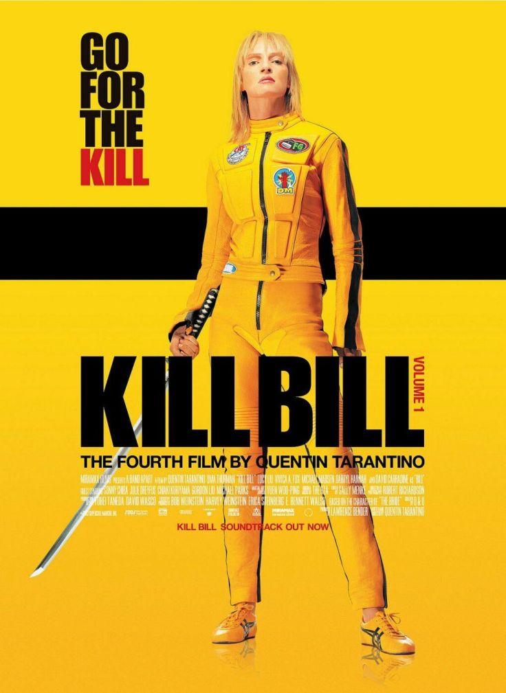 kill bill 1 poster