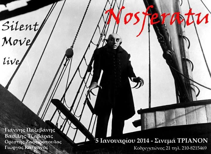 SILENT MOVE LIVE NOSFERATU