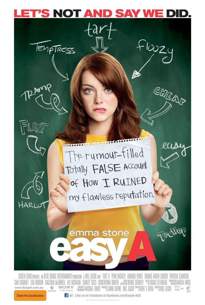 Easy A Poster