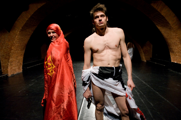 Oliver Frljic, Damned Be the Traitor of his Homeland! 5 3 2014, Transitions 1.Balkans