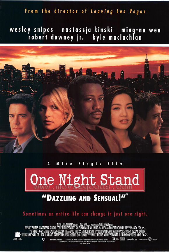 one night stand poster
