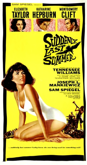 Poster - Suddenly, Last Summer
