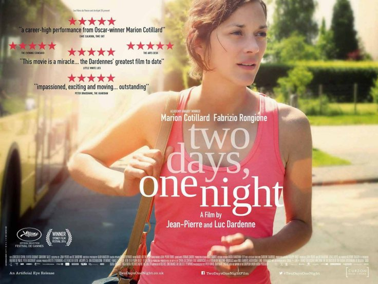 Two-Days-One-Night-Marion-Cotillard _ Dardenne-poster