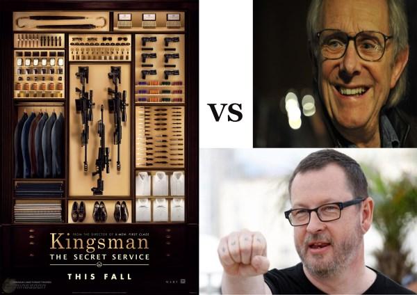 kingsman vs loach and trier