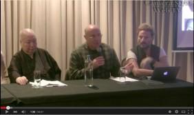 video press conference mixail marmarinou kai Gensho Umewaka