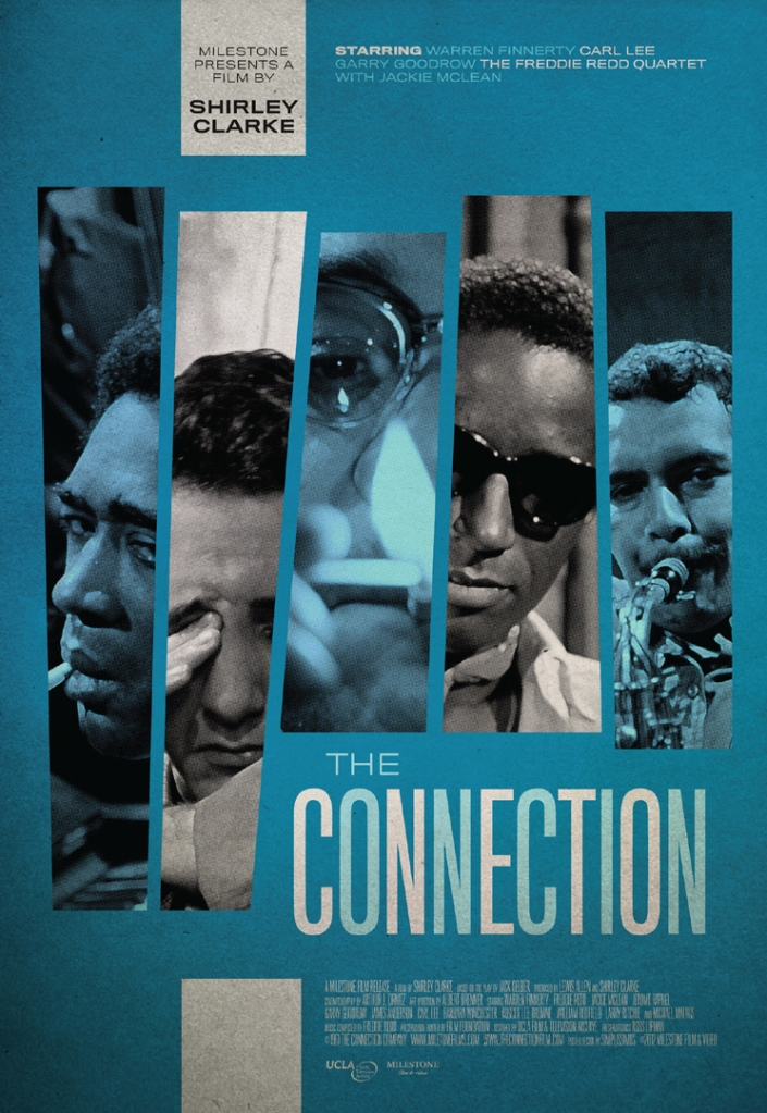 2012 poster for Shirley Clarke's THE CONNECTION