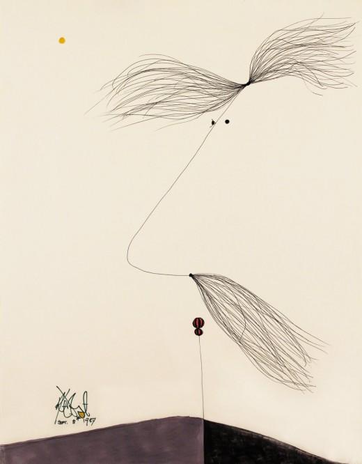 Kurt Vonnegut paintings 01