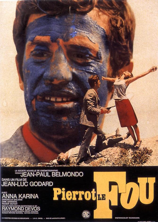 PIERROT LE FOU poster 00