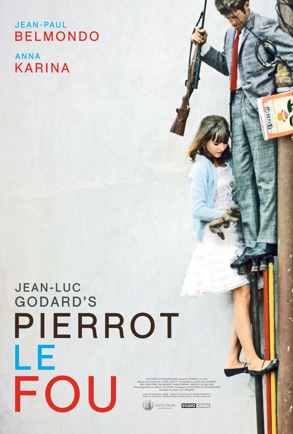 PIERROT LE FOU poster 01