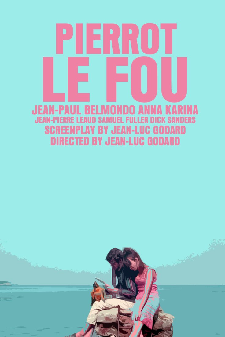 PIERROT LE FOU poster 02