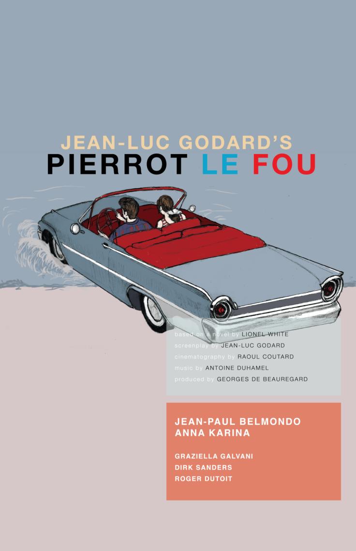 PIERROT LE FOU poster 03
