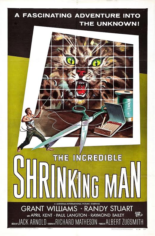 Incredible Shrinking Man-poster