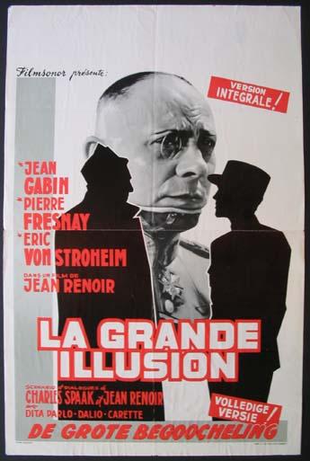 LA GRANDE ILLUSION poster