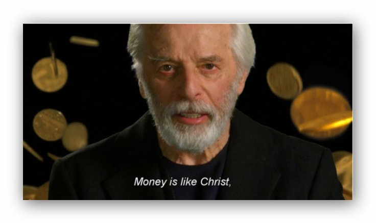 money is like christ