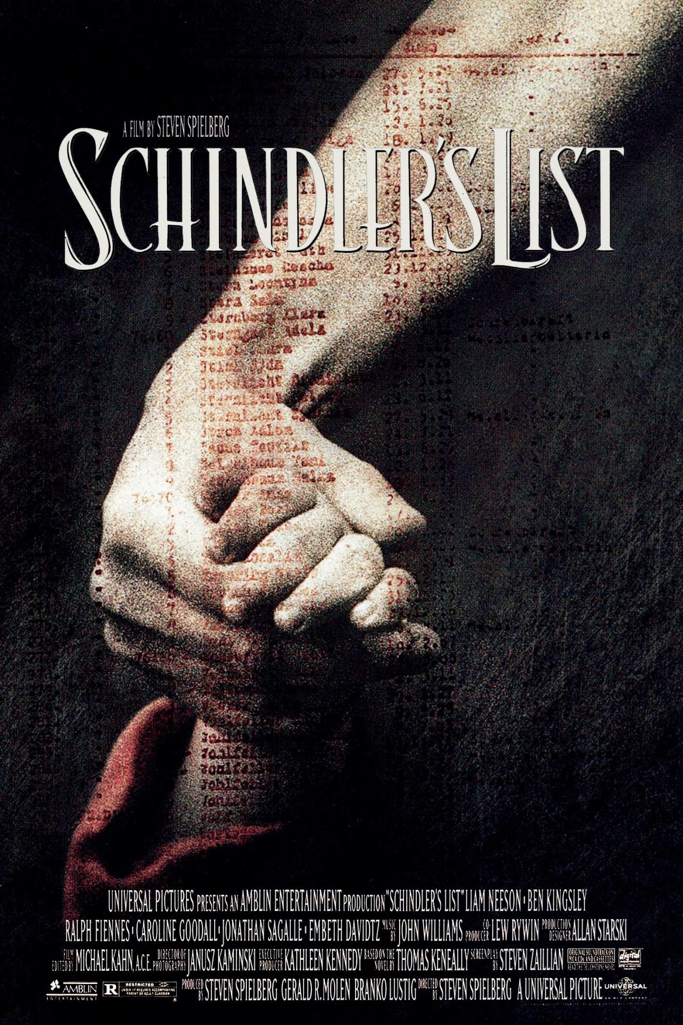 Η Λίστα του Σίντλερ (Schindler's List,1993) του Στίβεν Σπίλμπεργκ ...