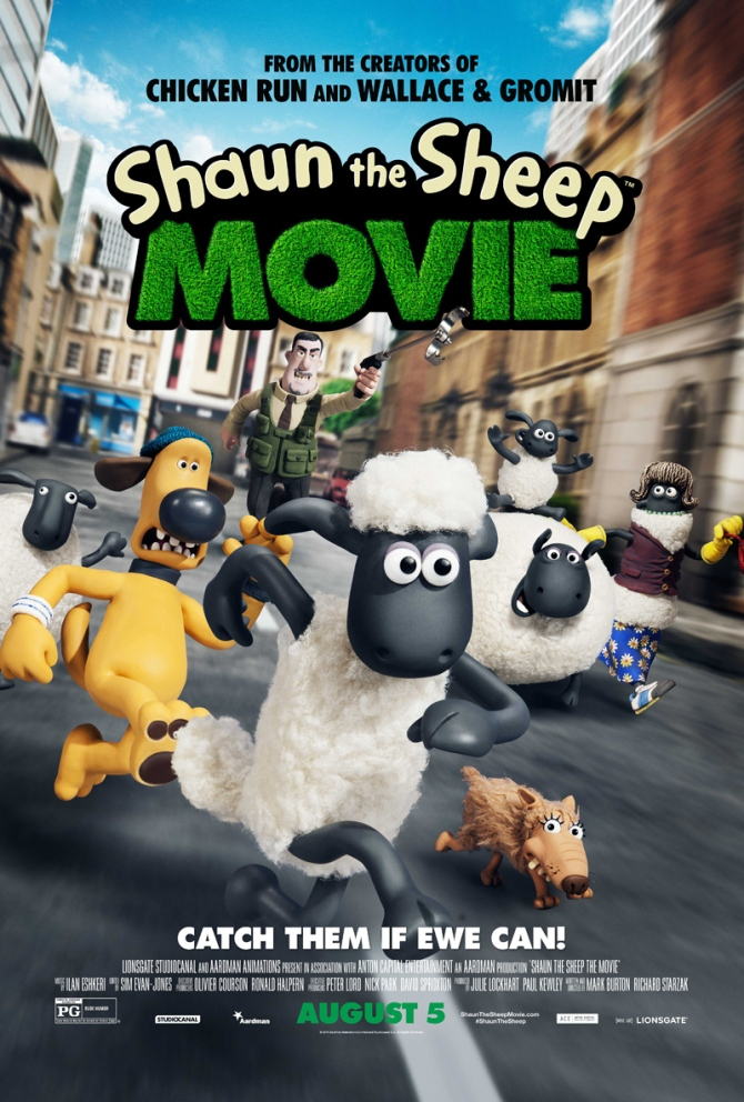 shaun movie poster