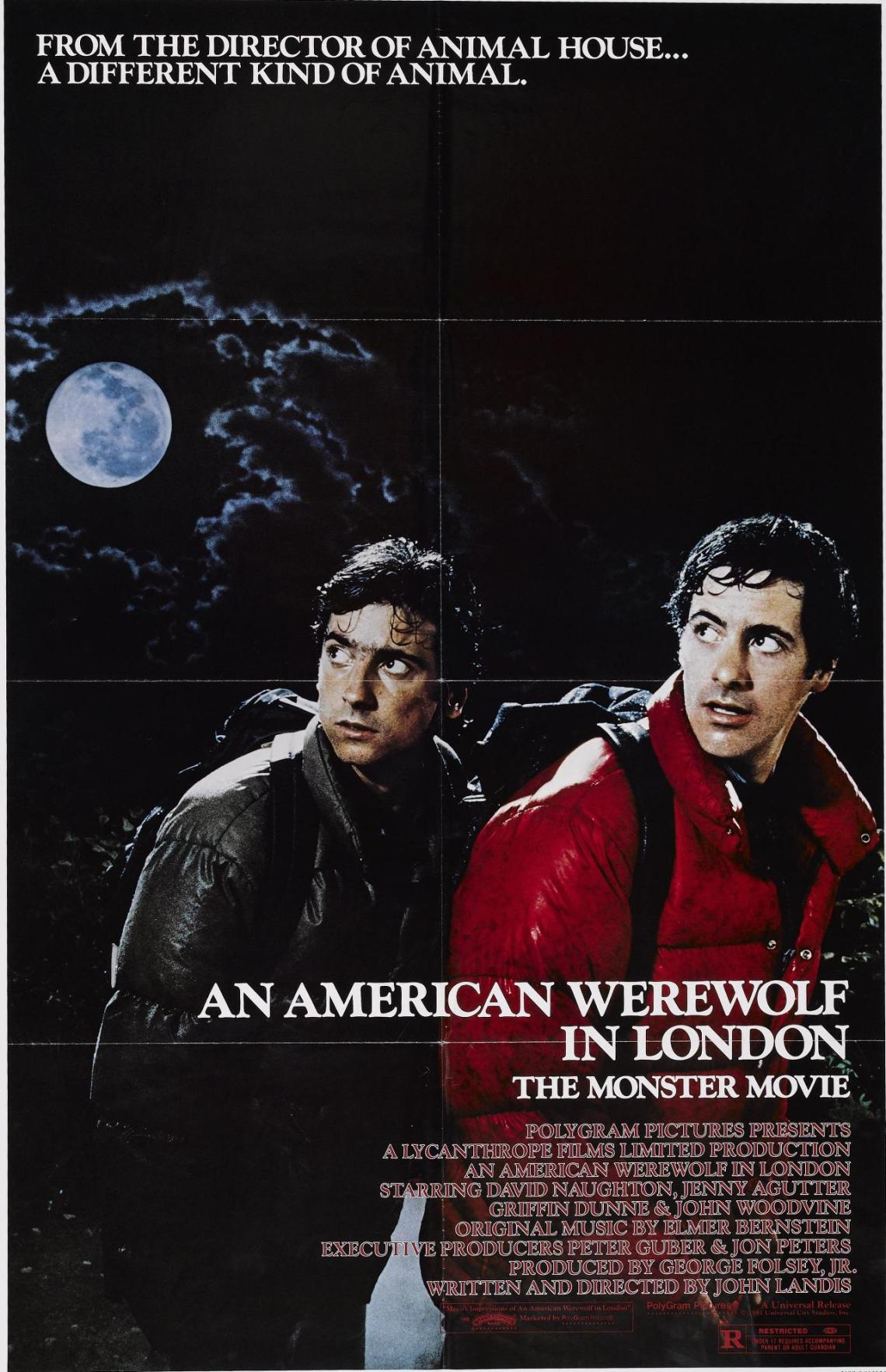 AN AMERICAN WEREWOLF IN LONDON poster 01
