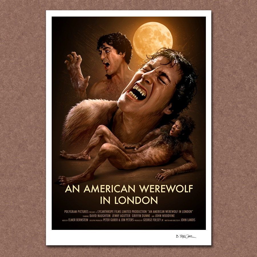 AN AMERICAN WEREWOLF IN LONDON poster 02