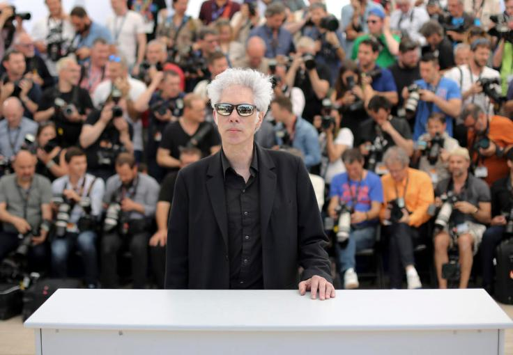 Director Jim Jarmusch poses for photographers during a photo call for the film Paterson at the 69th international film festival, Cannes, southern France, Monday, May 16, 2016. (AP Photo/Thibault Camus)