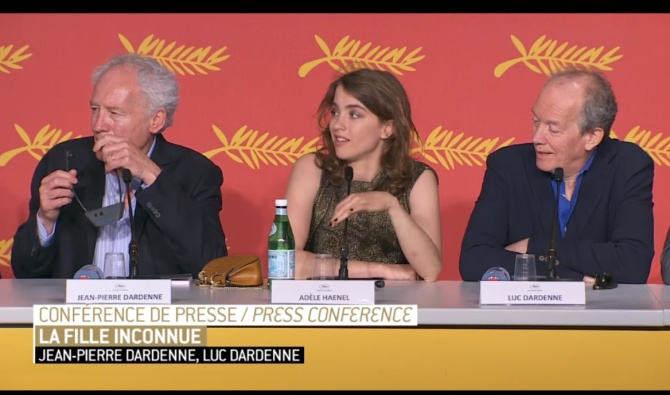 La fille inconnue press conference 01