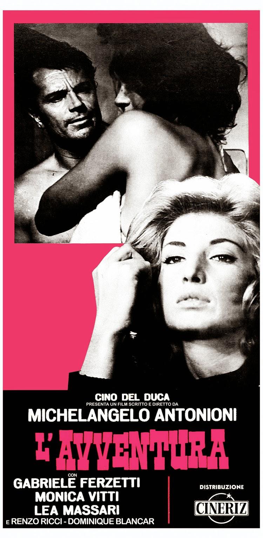 L'AVVENTURA - Italian Poster