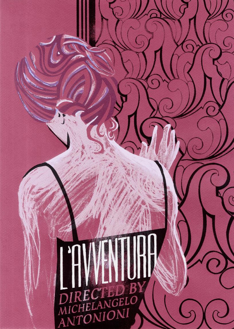 L'AVVENTURA -Poster 01