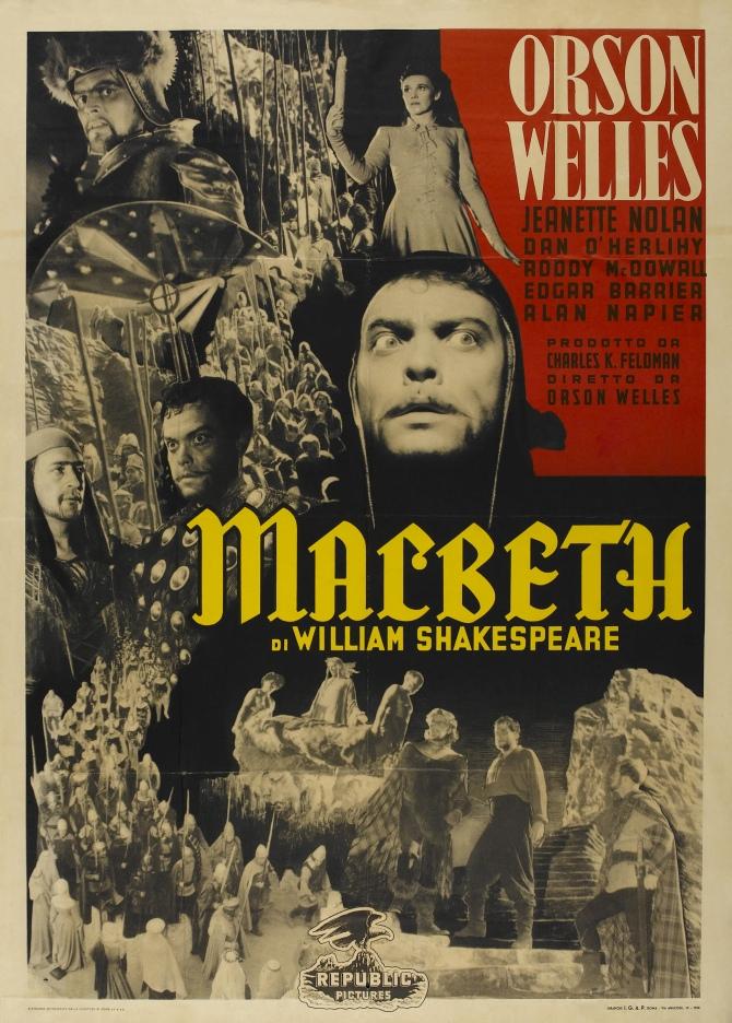 Poster Macbeth 1948