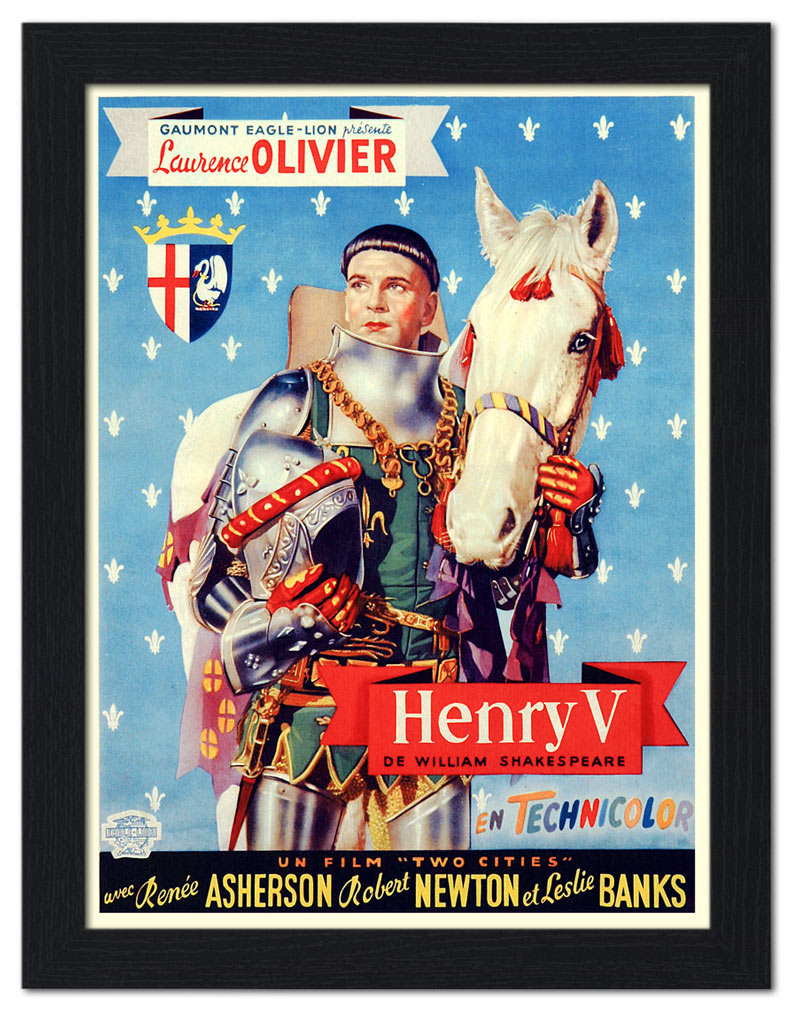 henry-v-laurence-olivier-shakespeare-movie-poster