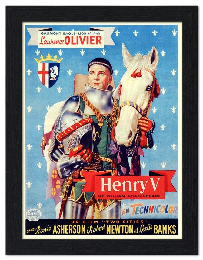 henry-v-laurence-olivier-shakespeare-movie-poster