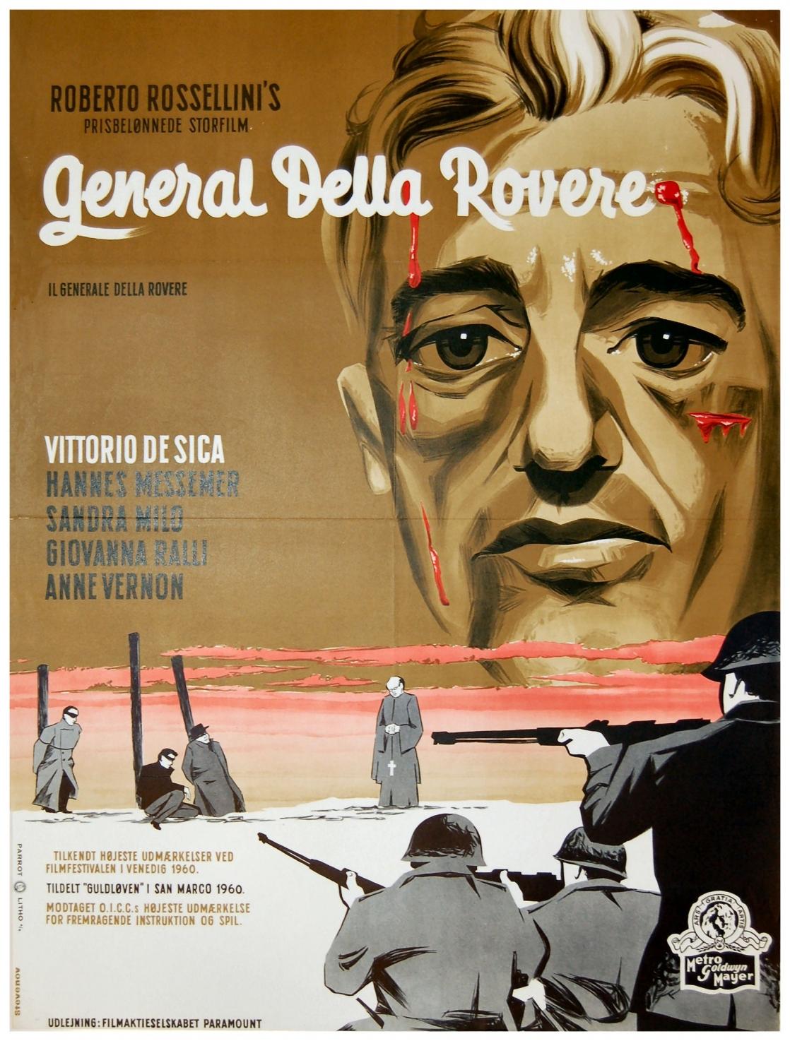 Il generale della Rovere poster 01