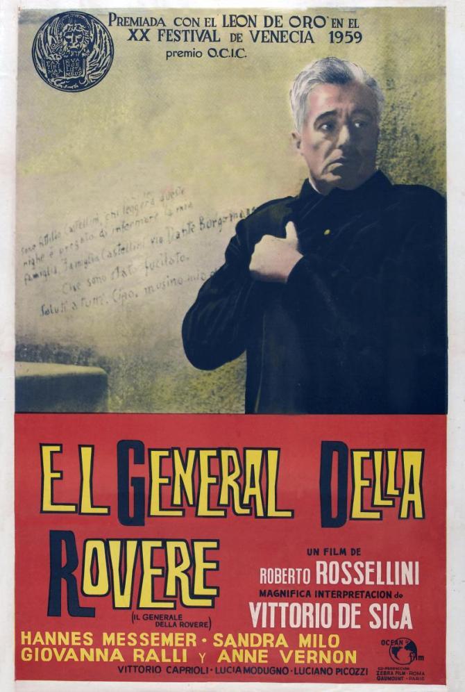 Il generale della Rovere poster