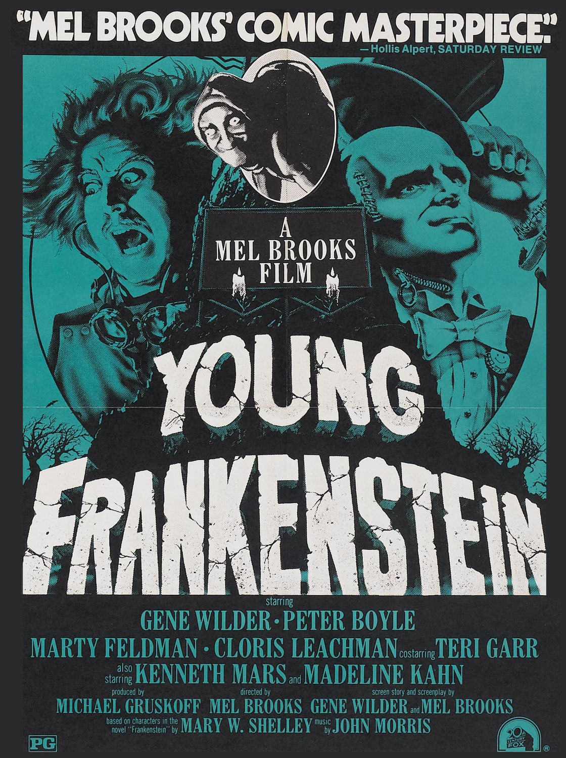Young Frankenstein poster  01